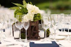 Woodsy Wedding Centerpiece 1