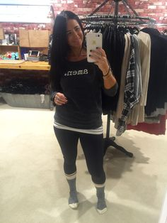 Seriously beautiful lady from Sweet Jolie - rocking our Amen comfy sweatshirt!! Check her out at Sweet {Jolie}