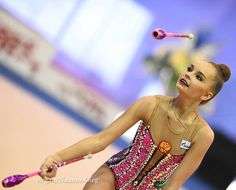 Arina AVERINA (Russia) ~ Clubs @ Russian National Championship 2017  in Penza Photographer Oleg Naumov.