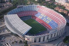 Camp Nou (New Field) - FC Barcelona stadium. Just stunning had the pleasure to visit it!