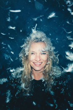 Kate Moss // Feathers