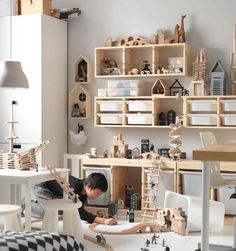 Ikea baby room ideas for boy and girl. Suitable furniture for small spaces, best decor. The best options for the baby and toddler room. Ikea Kids Room, Kids Rooms, Room Boys, Toddler Rooms, Trofast Ikea, Ikea Toys, Ikea Ikea, Storage Design, Storage Ideas