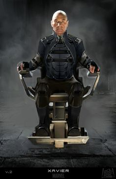 X-Men: Days of Future Past Concept Art - Professor X - Xavier by Philip Boute Jr. *