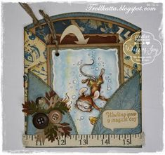 Whiff of Joy - Tutorials & Inspiration: A Shaped Double Tag Card
