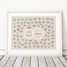Your place to buy and sell all things handmade Happy To Meet You, Personalised Prints, Wedding Guest Book Alternatives, All Print, Unique Weddings, Special Day, Wedding Ring, New Baby Products, At Least