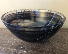 Kosta Boda, Bohemian Art, Antique Glass, Vintage Art, Sweden, Glass Art, Amethyst, Ceramics, Blue