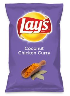Wouldn't Coconut Chicken Curry be yummy as a chip? Lay's Do Us A Flavor is back, and the search is on for the yummiest chip idea. Create one using your favorite flavors from around the country and you could win $1 million! https://www.dousaflavor.com See Rules.