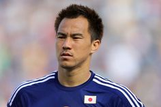 Shinji Okazaki Photos - Shinji Okazaki of Japan looks on during the 2015 Asian Cup match between Japan and Palestine at Hunter Stadium on January 2015 in Newcastle, Australia. - Japan v Palestine Shinji Okazaki, Premier League Matches, Arsenal Fc, Newcastle, Hero, Baseball Cards, January 12, Sports, Palestine