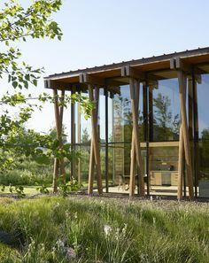 Washington Fruit & Produce Headquarters, Yakima by Berger Partnership « Landscape Architecture Works Seattle Architecture, Architecture Design, Plans Architecture, Facade Design, Landscape Architecture, Landscape Model, Landscape Design, Green Landscape, Traditional Landscape