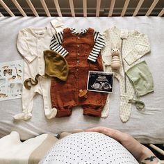 If only we had all of these supplies during pregnancy. Baby Outfits, Cute Outfits For Kids, Cute Kids, Little Babies, Cute Babies, Foto Baby, Baby Kind, Baby Baby, Baby Announcements