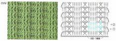 Crochet 2 - Marianna Lara - Álbuns da web do Picasa Crochet Stitches Patterns, Stitch Patterns, Pattern Books, Chart, Album, Vanessa Montoro, Facebook, Ideas, Crotchet Patterns