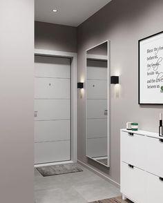 Hallway Decorating, Entryway Decor, Corridor Design, Dressing Room Design, Apartment Bedroom Decor, Ideal Home, Interior Design Kitchen, Home Living Room, Home Fashion