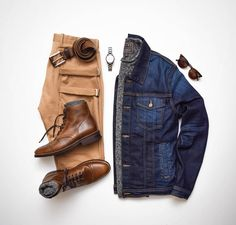 4,568 отметок «Нравится», 94 комментариев — StylesOfMan.com (@stylesofman) в Instagram: «Here's some Friday Americana. Would you wear this? or ❓ ———BRANDS——— Denim jacket: @7fam…»