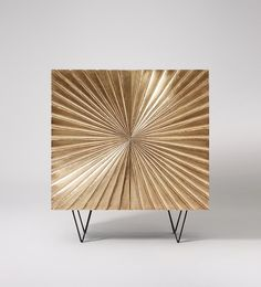 Ziggy Contemporary Cabinet in brass & dark mango wood. Celebrate artisan making at Swoon, hand-crafted designs without the inflated price tag. Contemporary Cabinets, Modern Contemporary, Swoon Editions, Living Room Cabinets, Scandi Style, Bar Furniture, Unique Furniture, Sideboard Furniture, Kitchen Furniture
