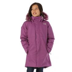 7f5a6a0fc1 The North Face Girls Arctic Swirl Down Jacket - WinterKids.com North Face  Girls