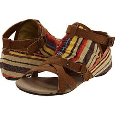 "i generally dislike the ""gladiator"" style sandals, but these ones could convert me. they are pretty rad."