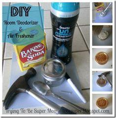 DIY Room Deodorizer and Air Freshener
