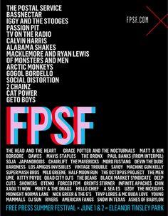 Free Press Summer Festival 2013 - June 1-2 - Houston, TX - http://edmcal.com/5n