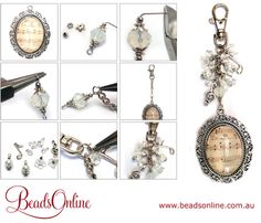 Tutorials | Vintage Music Bag Charm | Handmade Fashion Jewellery – Devoted to DIY Jewellery