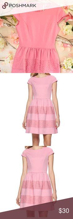 flash saleSweet Pink Dress Really cute Lauren Conrad Dress Lauren Conrad Dresses Mini