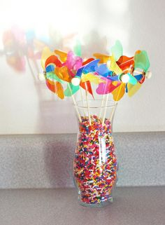 dont care to waste all of those sprinkles but id love to find those blow whirly thingys, i love those and i think spencer would to