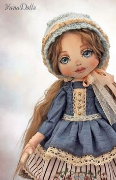 Textile Doll | Текстильная кукла Сашенька