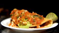 Tacos de Camaron at Mariscos Jalisco in LA