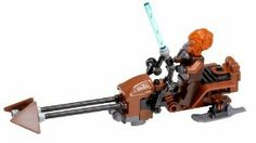 Lego Plo Koon with Speeder Bike (Loose) Star Wars Clone Wars Figure by LEGO. $24.99. Building instruction of the speeder bike can be downloaded online. Complete speeder bike assembly. Plo Koon lego figure with transblue lightsaber. Complete speeder bike assembly and 1-inch lego Plo Koon mini figure with transblue lightsaber as weapon.