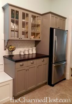 Kitchen Cabinetry Painted In French Linen Chalk Paint Decorative Paint By Annie Sloan