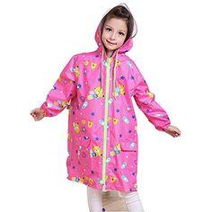 WINOMO Poncho Impermeabile con Cappuccio e Maniche Pioggia Abbigliamento per Adulti delle Donne degli Uomini
