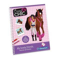 Crazy Chic Fashion Sketchbooks My Lovely Friends Horses & Ponies by Clementoni Clementoni http://www.amazon.com/dp/B00GAX8GZW/ref=cm_sw_r_pi_dp_dJsBub0TKDB03