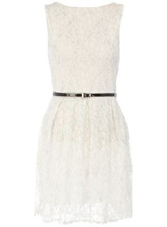 White lace dress $49