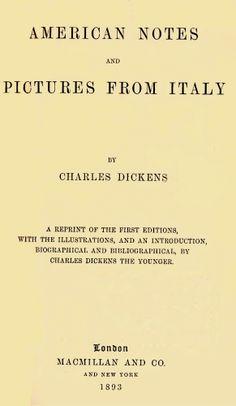 Charles Dickens, Pisa