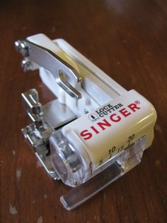 Singer Lock Cutter Sewing Machine Attachment - If this really acts like a serger without *buying* a serger