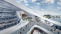 """Gallery of Six Flinders Street Station Proposals Battle It Out for """"Public Choice Award"""" - 36"""