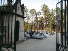 De fraaie begraafplaats van Cabeceiras de Basto in Noord-Portugal