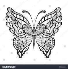Reminiscent of lace, it is designed to decorate - Tattoos - Hand Henna Designs Henna Hand Designs, Henna Tattoo Designs, Tattoo Henna, Butterfly Tattoo Designs, Lace Tattoo, Butterfly Design, Hand Tattoos, Lace Butterfly Tattoo, Tatoos