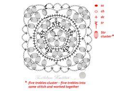 Granny Squares i Motywy: Wzór 6Granny Squares and Motifs: Pattern 6