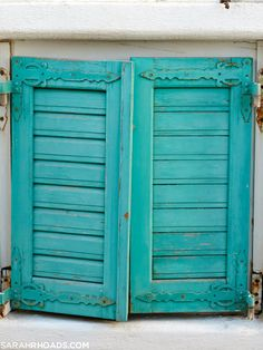 aqua shutters, greece, photo: sarah rhoads