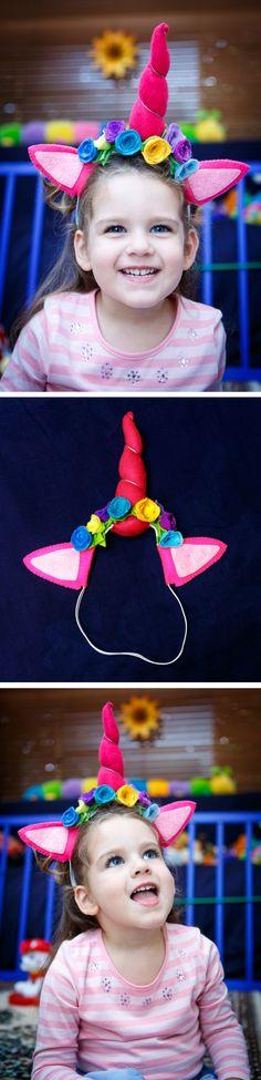 Raspberr-icorn Unicorn Headband    *Unicorn Dress Up*