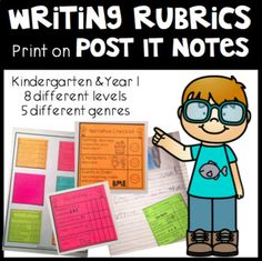 Browse over 170 educational resources created by Kindergarten Matters in the official Teachers Pay Teachers store. Writing Rubrics, Paragraph Writing, Opinion Writing, Persuasive Writing, Teaching Writing, Teaching Resources, Printed Post It Notes, Art Education, Physical Education
