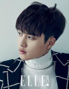 EXO D.O - Elle Magazine December Issue '14