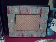 Check out this item in my Etsy shop https://www.etsy.com/listing/213491442/candy-colored-christmas-tree-frame-5x7