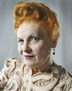Vivienne Westwood - My inspiration in EVERY single way. Absolutely love EVERYTHING about her!