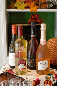 Host a Fall Wine Tasting Party - we paired 6 easy appetizers with 6 different wines! What a fun get together with the girls!