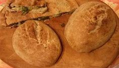 Pane con farina di farro e lievito madre.