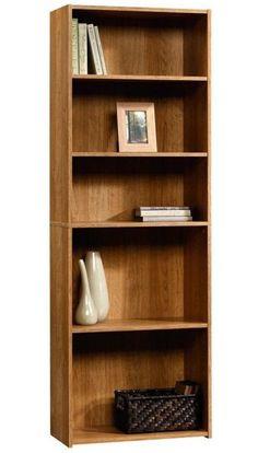 Sauder Beginnings 5 Shelf Bookcase - Highland Oak