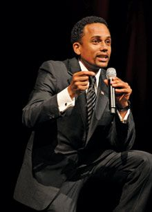 That's what CSI: NY regular Hill Harper became when he committed himself to work as an HIV activist from Real Health Fall 2011.