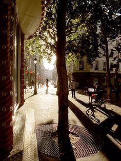 Paris, place des Abbesses