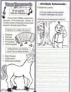 Atividades Folcloricas Ensino Fundamental Textos Parlendas